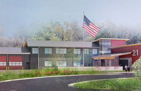 Ground Breaks for Bainbridge Island Fire Station 21