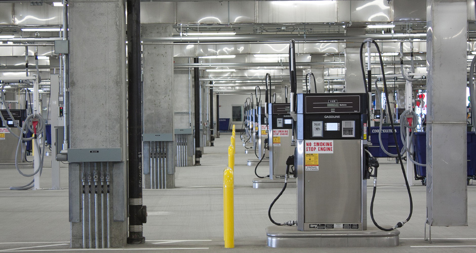 Portland International Airport Rental Car Quick-Turnaround Facility