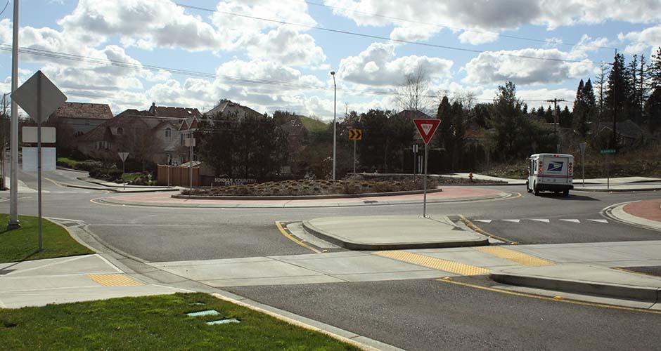 SW Barrows/SW Roshak Roundabout