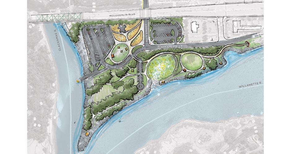 Clackamette Park Master Plan