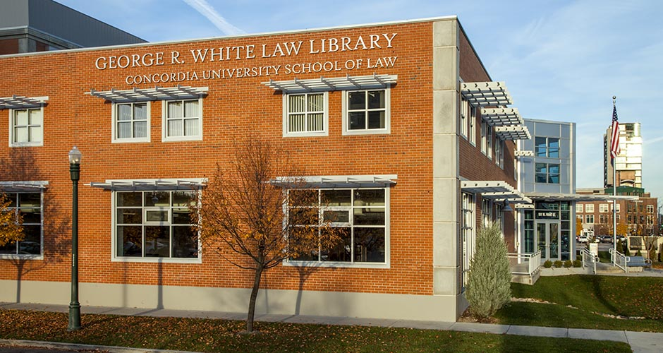 Concordia University School of Law and George R. White Law Library
