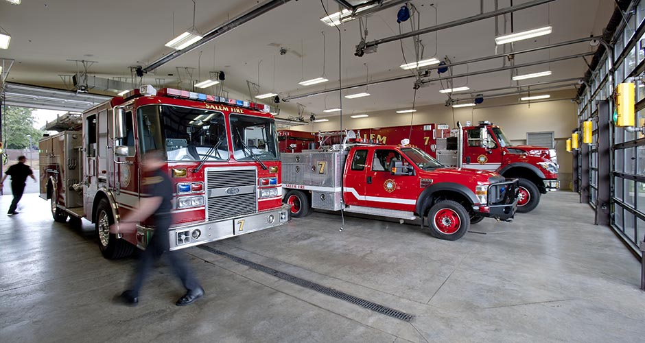 Salem Fire Stations #5, 7, 10, and 11