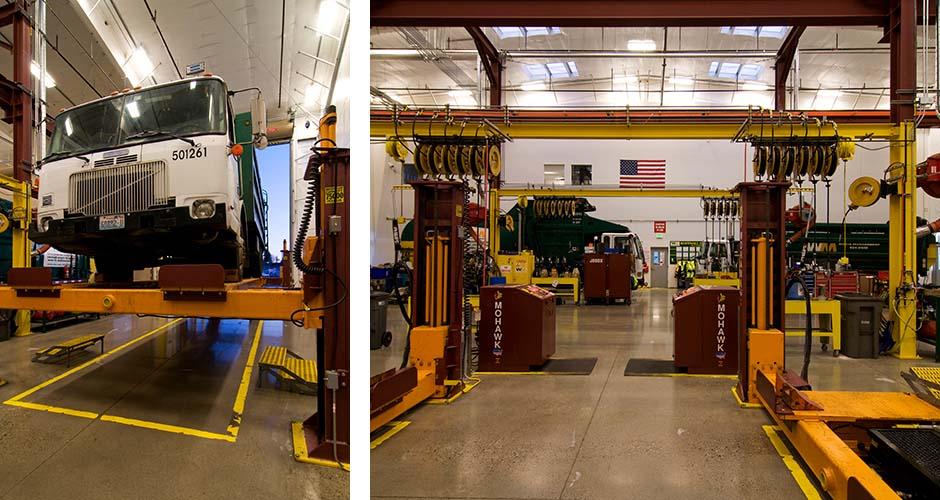 Waste Management Maintenance Facility